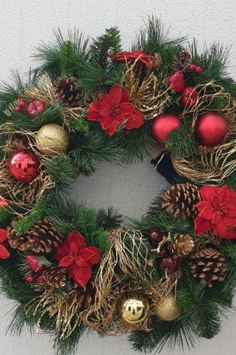 SILK ARTIFICIAL CHRISTMAS WREATH WORKSHOP // 26th November // 6.30pm