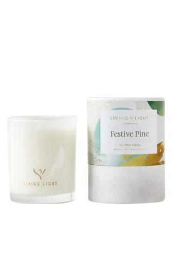 Christmas Soy Candle Festive Pine – Mini