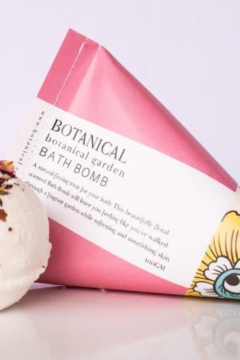 Bath Bomb // botanical garden
