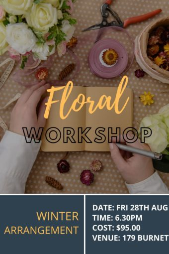 Mid Winter Workshop // FRI 28TH AUGUST