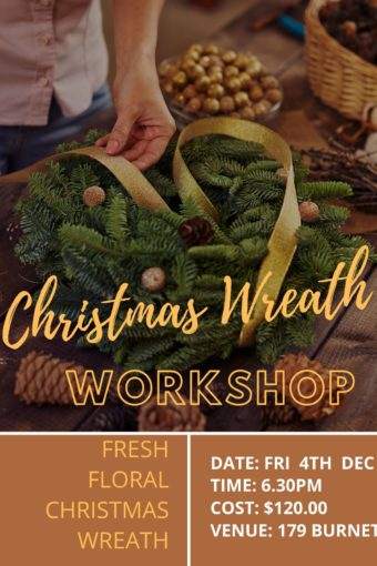 Fresh Christmas Wreath // FRI 4TH DEC