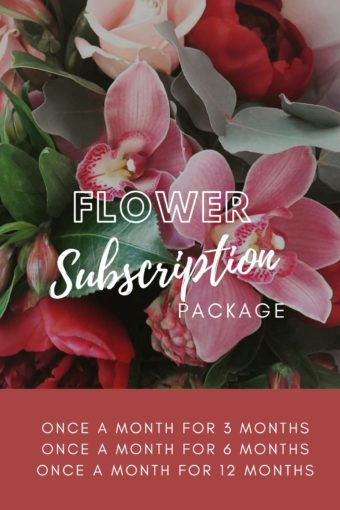 Monthly Floral Subscription Package