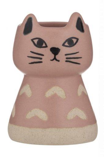 Charlie Cat Vase